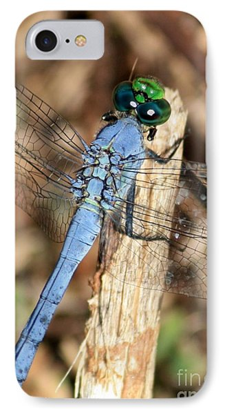 Beautiful Blue Eyes Phone Case by Carol Groenen
