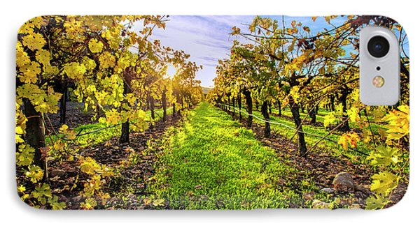 Beautiful Colors On The Vines IPhone Case by Jon Neidert
