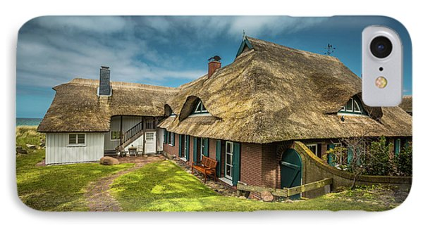 Beautiful Cottage IPhone Case by Eva Lechner