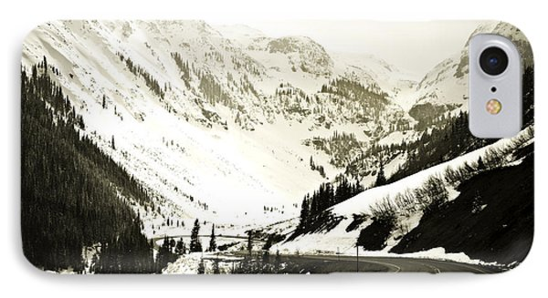 Beautiful Curving Drive Through The Mountains Phone Case by Marilyn Hunt