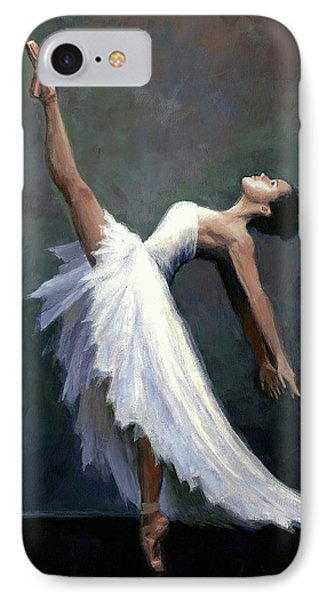 Beautiful Dancer IPhone Case by Janet King
