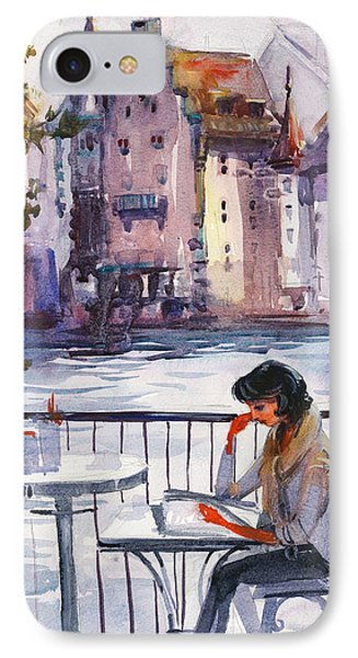 Beautiful Day, Reading IPhone Case