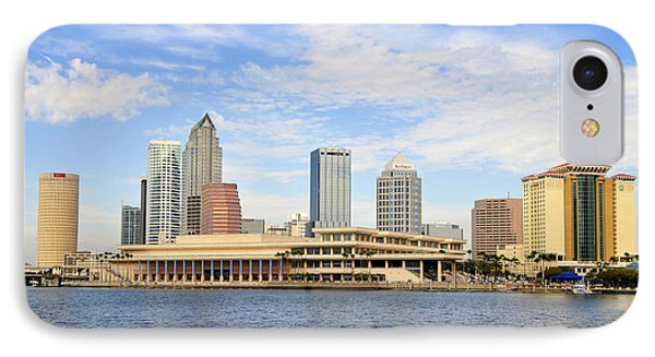 Beautiful Day Tampa Bay Phone Case by David Lee Thompson