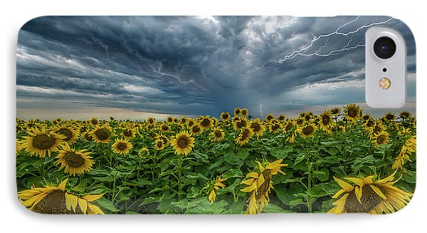 IPhone Case featuring the photograph Beautiful Disaster  by Aaron J Groen