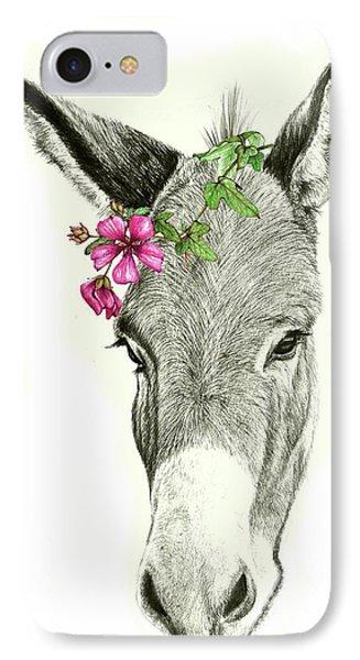 Beautiful Donkey IPhone Case