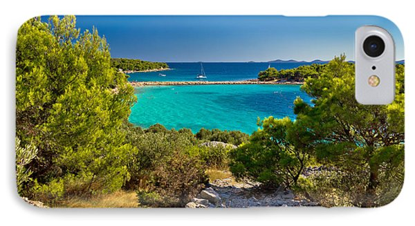 Beautiful Emerald Beach On Murter Island IPhone Case by Brch Photography