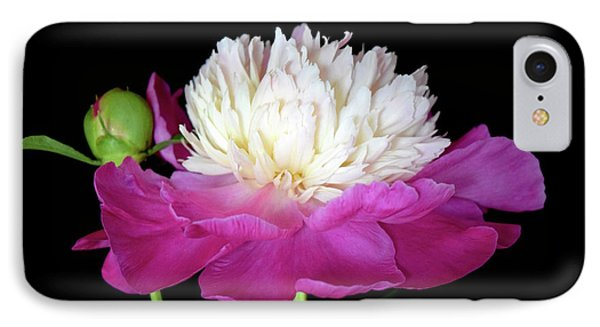 Beautiful Fancy Peony IPhone Case