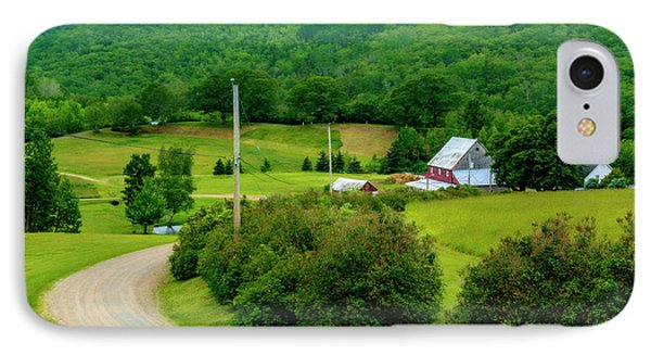 Beautiful Farm In Windsor Forks Phone Case by Ken Morris