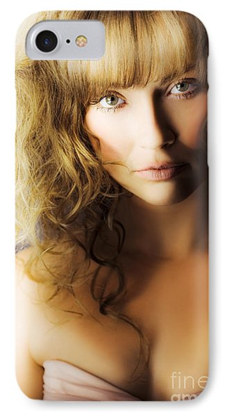 Beautiful Fashion Model IPhone Case by Jorgo Photography - Wall Art Gallery