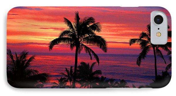 Beautiful Hawaiian Sunset IPhone Case by Michael Rucker