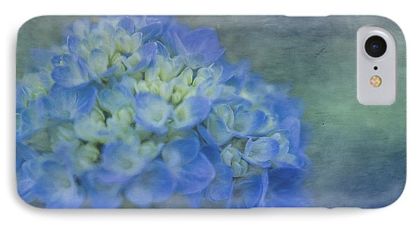 Beautiful In Blue IPhone Case by Linda Blair