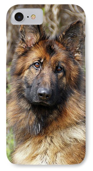 IPhone Case featuring the photograph Beautiful Jessy by Sandy Keeton