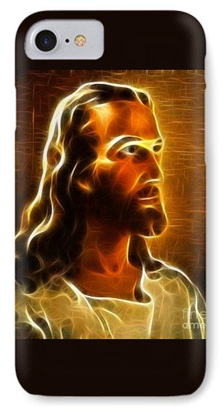 Beautiful Jesus Portrait Phone Case by Pamela Johnson