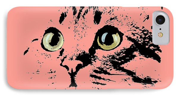Beautiful Kitten Portrait IPhone Case by Pablo Franchi
