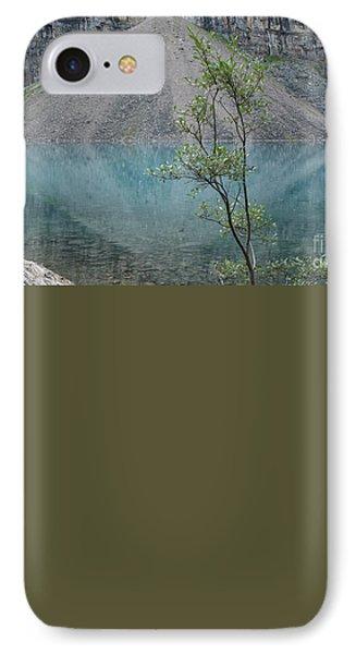 Beautiful Lake Moraine IPhone Case by Patricia Hofmeester