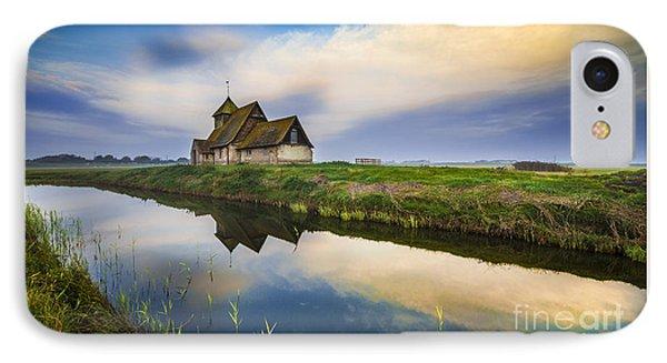 Beautiful Little Church IPhone Case by Svetlana Sewell