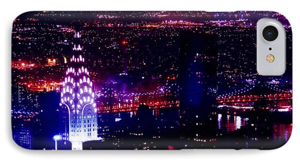 Chrysler Building iPhone 7 Case - Beautiful Manhattan Skyline by Az Jackson