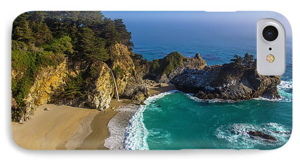 Beautiful Mcway Falls Cove IPhone Case by Garry Gay