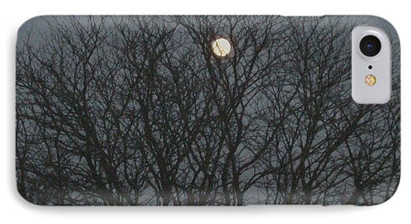 Beautiful Moon IPhone Case by Sonali Gangane