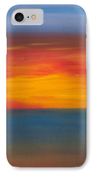 Beautiful Morning Phone Case by Bonnie Rabert