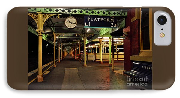 IPhone Case featuring the photograph Beautiful Old Albury Station By Kaye Menner by Kaye Menner