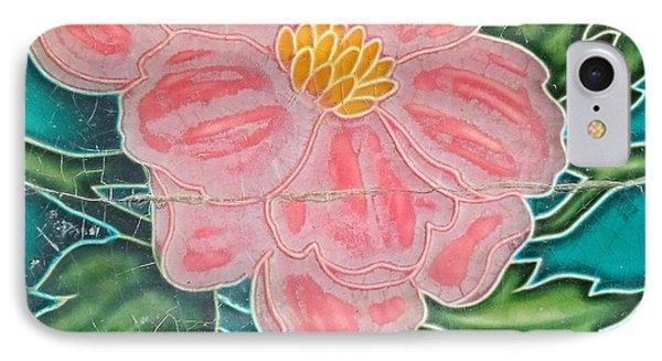 Beautiful Old Ceramic Tile IPhone Case by Yali Shi