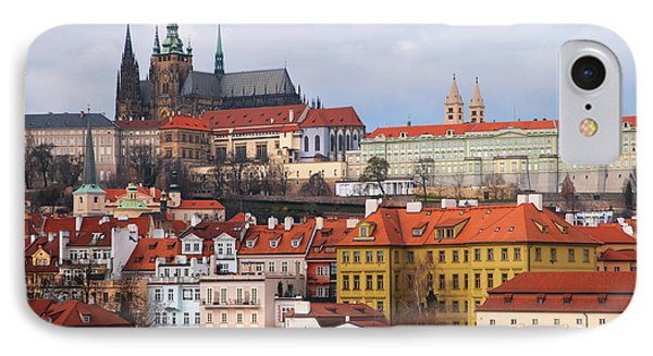 IPhone Case featuring the photograph Beautiful Old Prague by Jenny Rainbow
