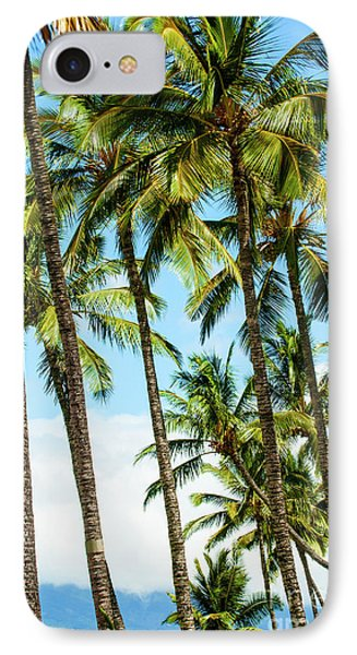 Beautiful Palms Of Maui 16 IPhone Case by Micah May