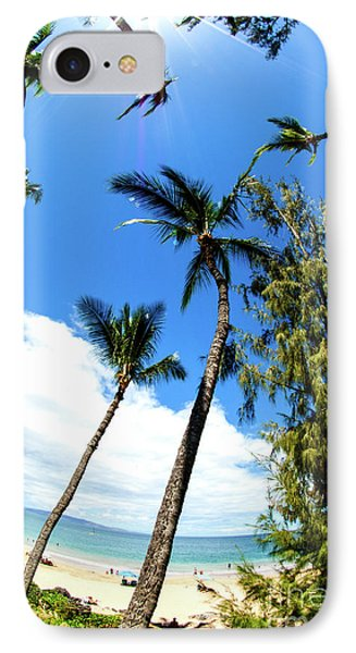Beautiful Palms Of Maui 17 IPhone Case by Micah May