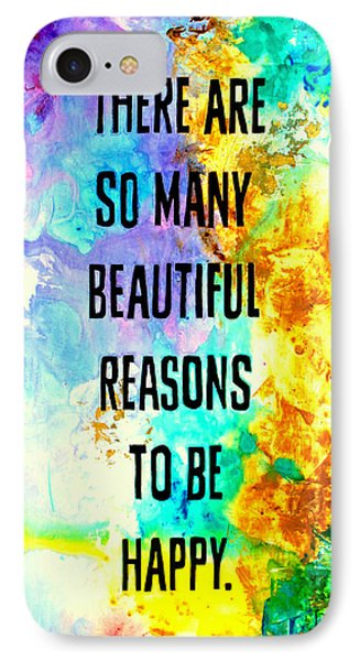 Beautiful Reasons IPhone Case by Ivan Guaderrama