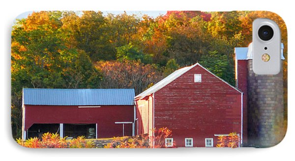 Beautiful Red Barn 2 IPhone Case by Lanjee Chee