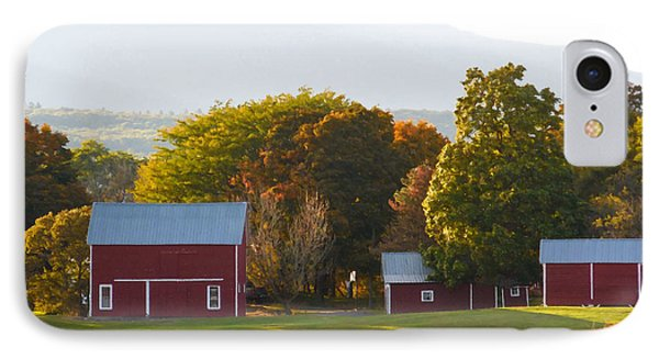 Beautiful Red Barn 3 IPhone Case by Lanjee Chee