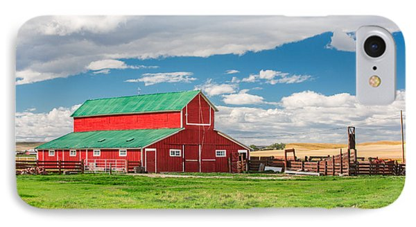 Beautiful Red Barn IPhone Case by Todd Klassy