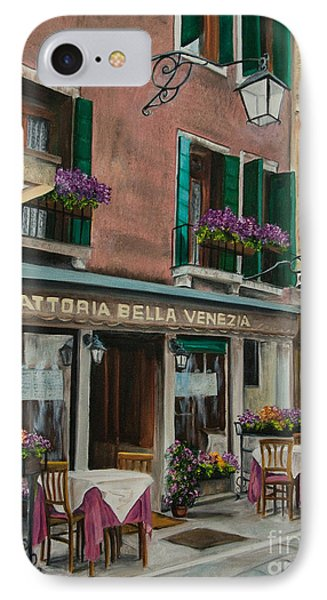Beautiful Restaurant In Venice Phone Case by Charlotte Blanchard