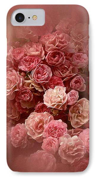 Beautiful Roses 2016 IPhone Case by Richard Cummings