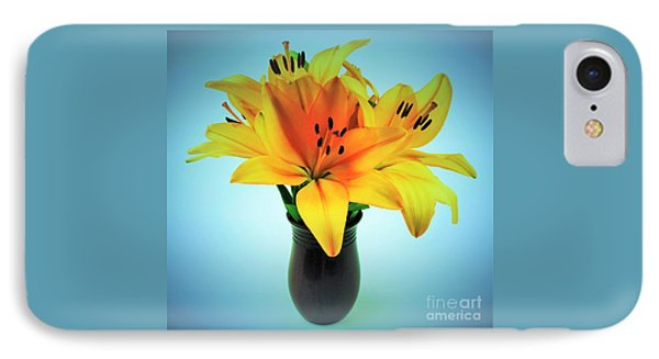 IPhone Case featuring the photograph Beautiful Royal Lilies  by Ray Shrewsberry