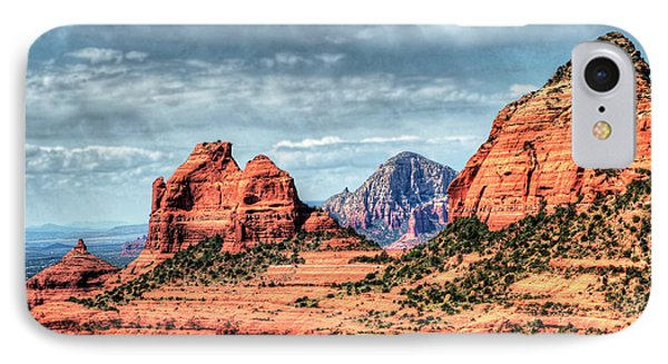 IPhone Case featuring the photograph Beautiful Sedona Az by Tom Prendergast