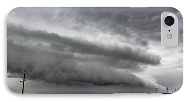 IPhone Case featuring the photograph Beautiful Shelf Cloud by Ryan Crouse