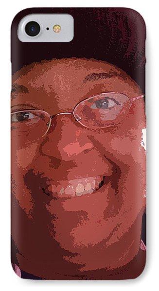 Beautiful Smile Phone Case by David Bearden