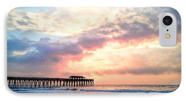 Beautiful Sunrise In Myrtle Beach South Carolina Usa IPhone Case by Vizual Studio
