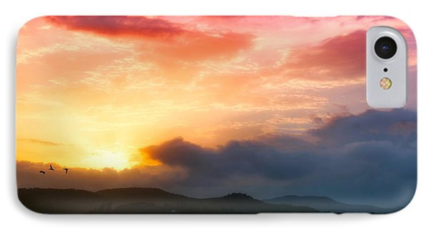 Beautiful Sunset IPhone Case by Charuhas Images