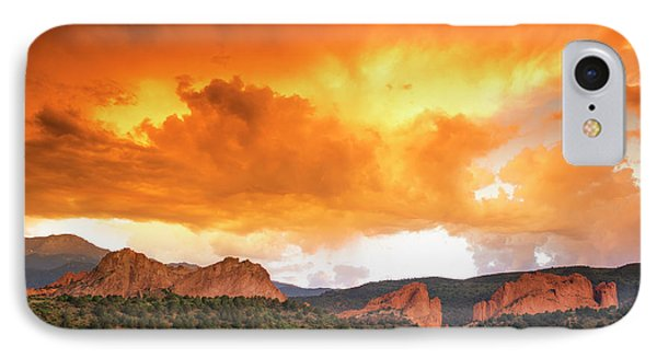 IPhone Case featuring the photograph Beautiful Sunset by Tim Reaves