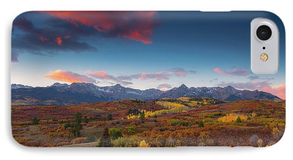 IPhone Case featuring the photograph Beautiful Tints Of Autumn by Tim Reaves