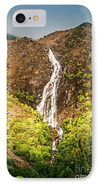 Beautiful Waterfall In Sunlight IPhone Case by Jorgo Photography - Wall Art Gallery