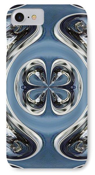 IPhone Case featuring the digital art Beautiful Winter Inspirational Art by Sheila Mcdonald