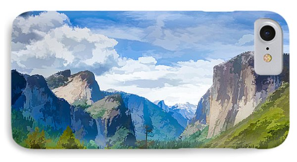 Beautiful Yosemite National Park Phone Case by Lanjee Chee