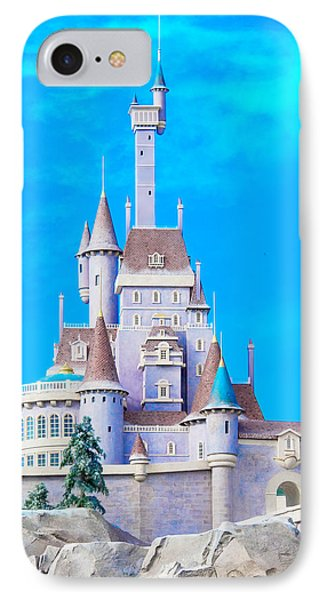 Beauty And The Beast Castle IPhone Case by Mark Andrew Thomas