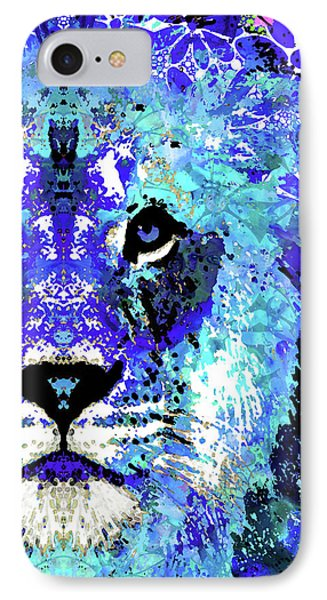 Beauty And The Beast - Lion Art - Sharon Cummings Phone Case by Sharon Cummings