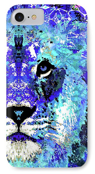 Beauty And The Beast - Lion Art - Sharon Cummings IPhone Case by Sharon Cummings