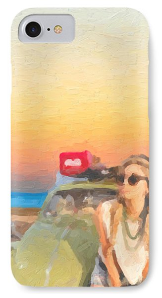 IPhone Case featuring the digital art Beauty And The Beetle - Road Trip No.2 by Serge Averbukh